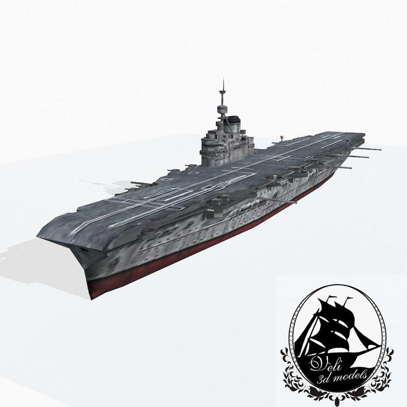 illustrious class aircraft carrier 3ds