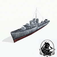 grom-class destroyers groms 3d 3ds