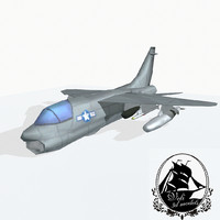 a-7 corsair ii max