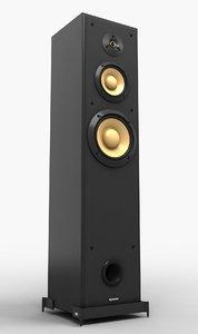 modern speaker 3d max