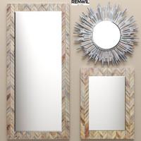 set mirrors