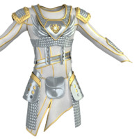 3d model armor