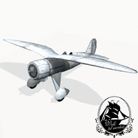 3d aero 102 fighter aircraft
