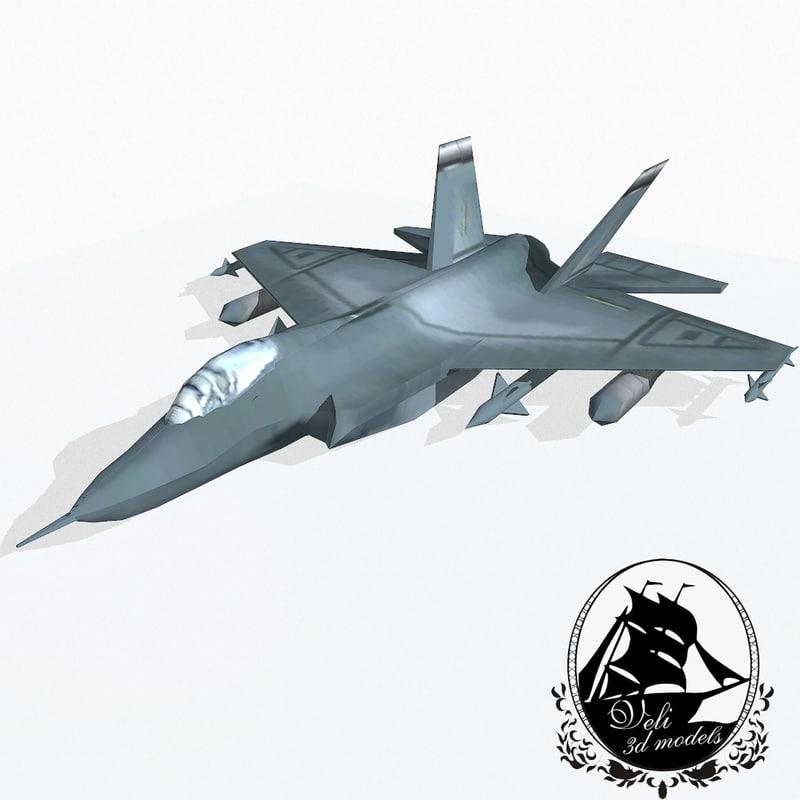 lockheed martin f-35 lightning 3d model