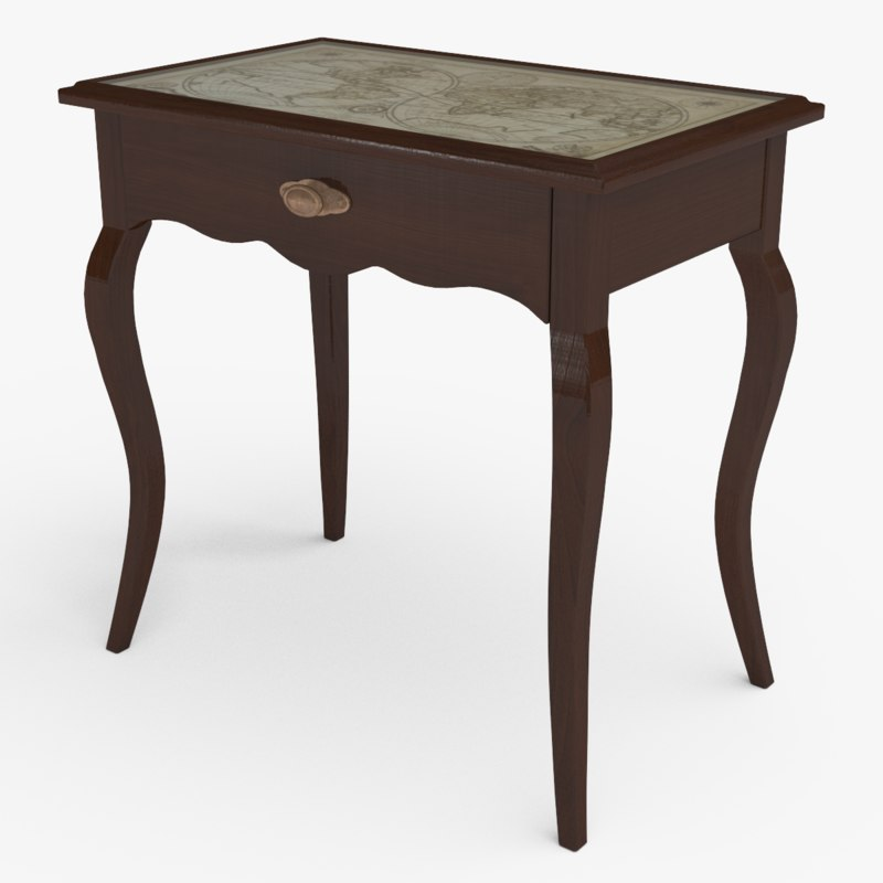classic console table obj