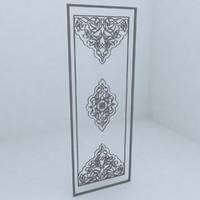 pattern architecture 3d max