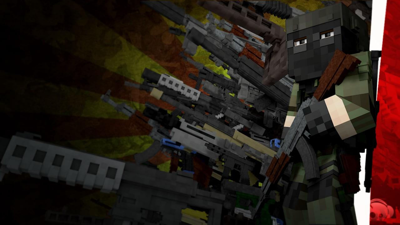 gun pack: soldiers 3d model