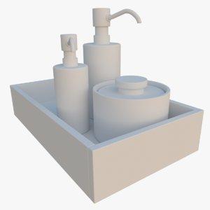soap tray obj