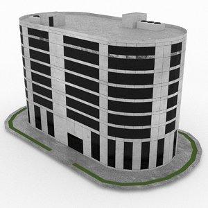 3d model office build 19