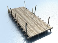 low poly pier