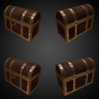 ready storage chest 3d obj