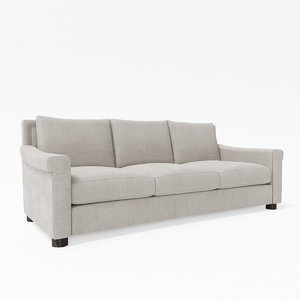michael berman roosevelt sofa 3d model