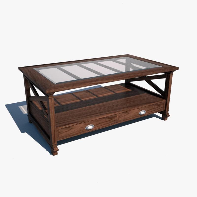 livingroom table 3d model