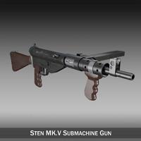 obj sten mk v gun