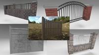 3d set fences 1