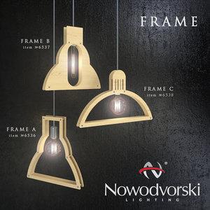 nowodvorski frame lamp 3d model