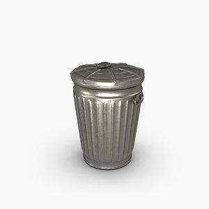 normal trash 3d model