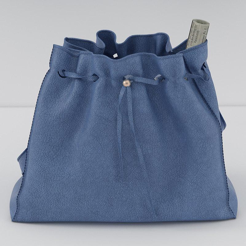 3d realistic handbags decoration