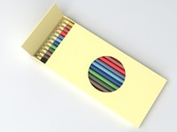 3d 3ds colour pencil