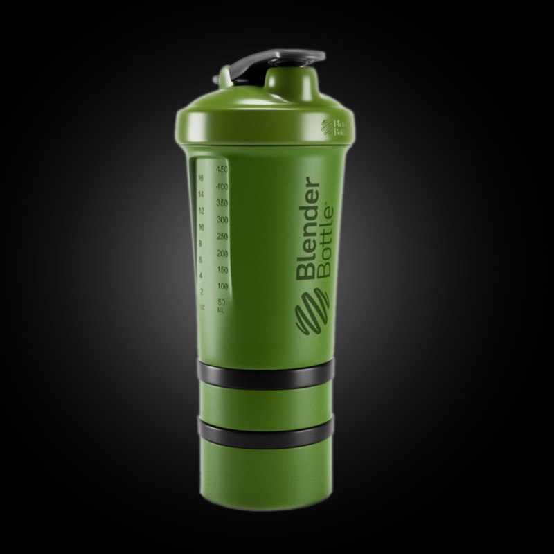 3d blender bottle model