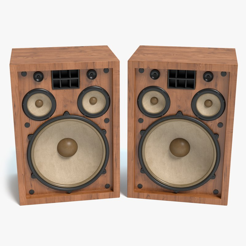 3d old speakers