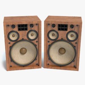 3d old speakers
