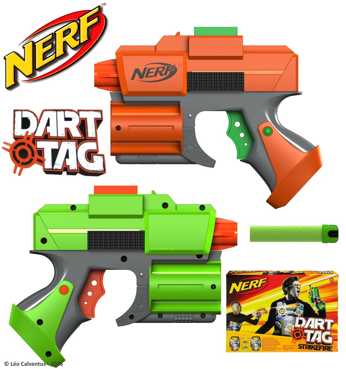 3d 3ds nerf dart tag