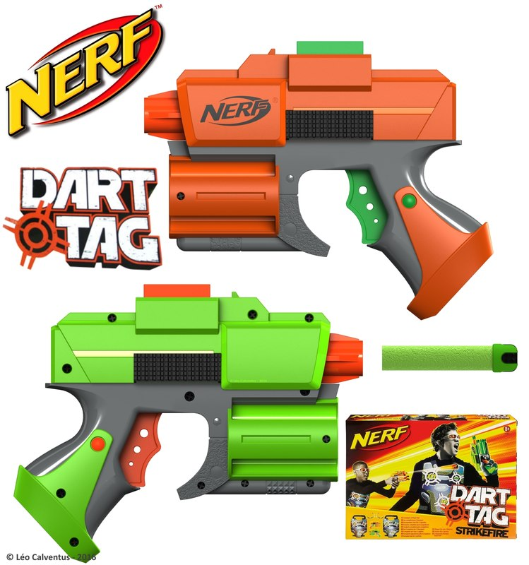 3ds nerf dart tag