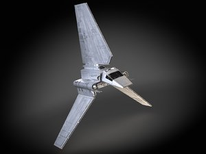 star wars lambda 3d model