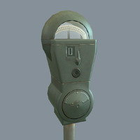 Parking Meter (Game-Ready)