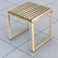 Modern Bathroom Stool