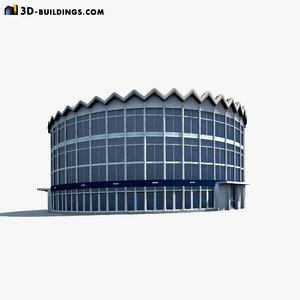 rotunda building 3ds
