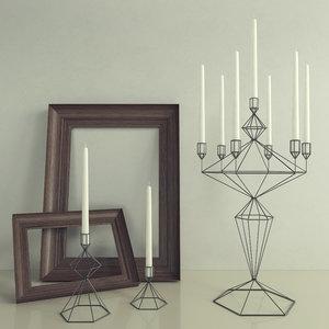 decor candle holder max