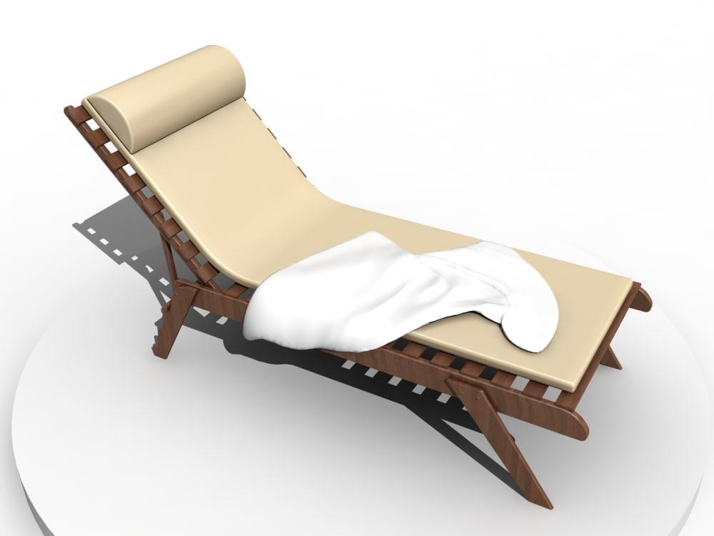 deckchair architectural max