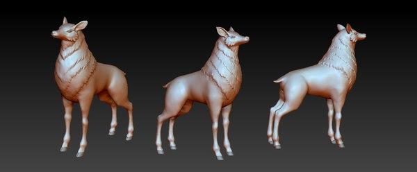deer 3ds