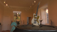 3d model squier jazzmaster guitar