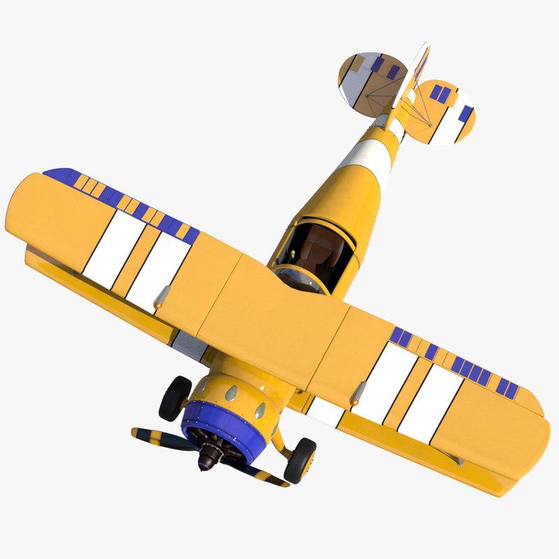 seat light aircraft 3 3d fbx