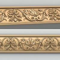 3d model decorative molding