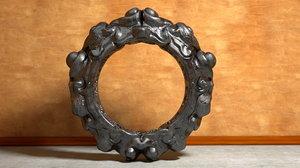 ornated ring 3d model