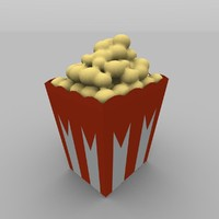 popcorn kernels 3d 3ds
