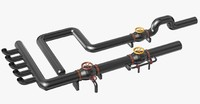 pipes 3d dxf