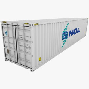 3d nol shipping container