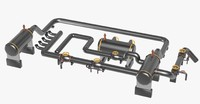 industrial equipment dxf