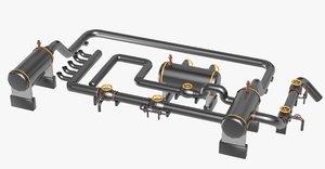 industrial equipment dxf