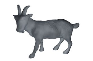 c4d goat base mesh