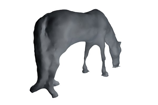 horse base mesh 3d 3ds
