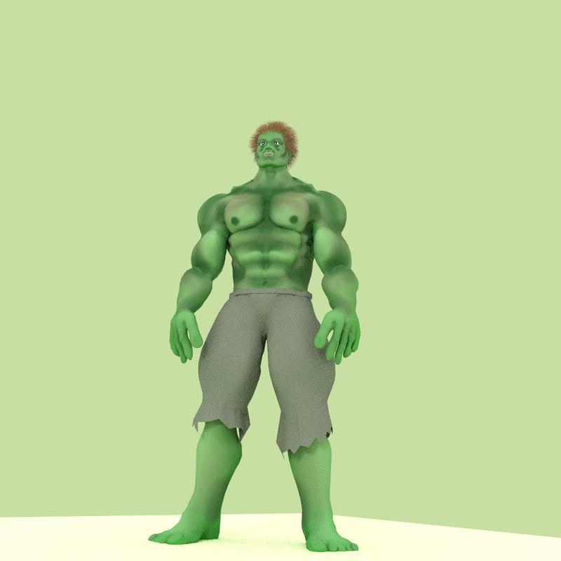 gamma wrestler 3d blend
