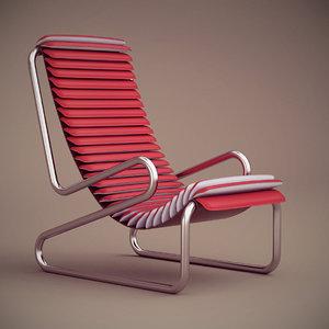 busnelli armadillo armchair 3d max