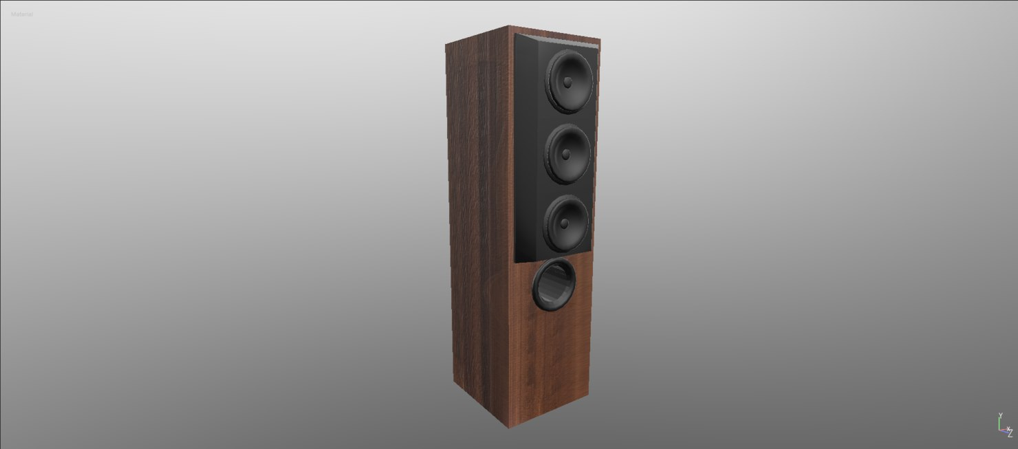 3d speakers film american