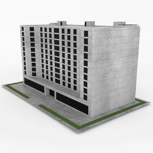 3d office build 26 model
